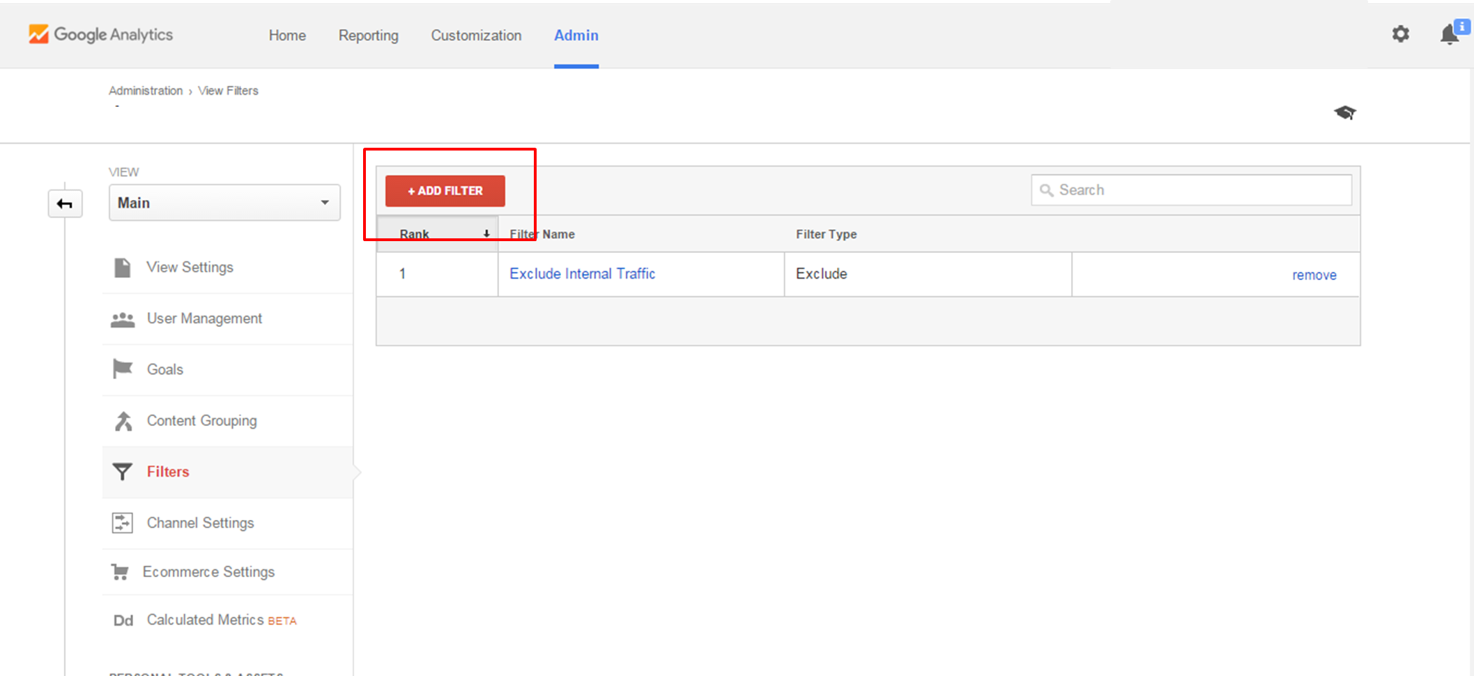 how to find view settings in google analytics