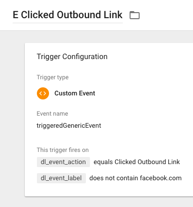 GTM Custom Outbound Link Trigger