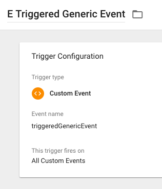 an improved method of tracking generic events in gtm